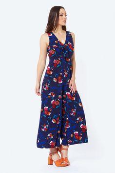 Revival (Dangerfield): Midnight In Paris Jumpsuit (Navy) Pant Jumpsuit, Paris, Navy, Closet, Dresses, Women, Fashion, Vestidos, Moda