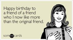 funny happy birthday images for her - Google Search