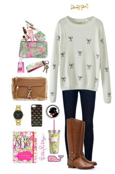 """""""CONTEST! Read below!"""" by janeannavickery ❤ liked on Polyvore featuring J Brand, Chicnova Fashion, Tory Burch, Rebecca Minkoff, Lilly Pulitzer, Kate Spade, Vineyard Vines and fallingforfuncontest"""