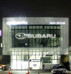 powerglass® media façades are high tech glass façades with integrated light emitting diodes. They combine a transparent glass façade with advanced LED-communication technology. At night they are l…