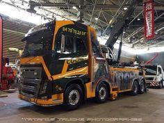 VOLVO FH tow wrec1ker truck