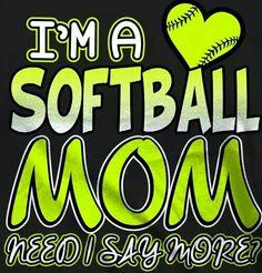 Softball Mom Fastpitch Softball, Softball Players, Softball Mom, Say More, Buick Logo, Beauty, Beauty Illustration