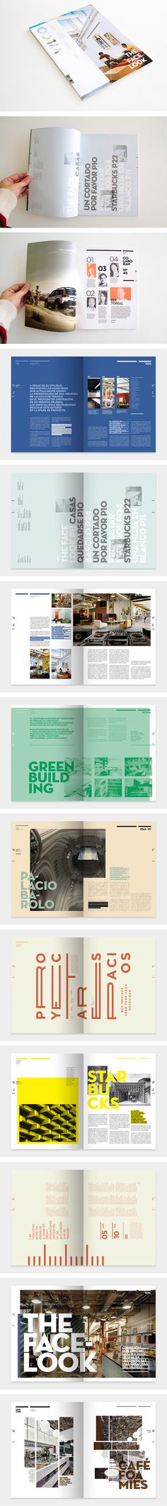 Revista Vuelco. This designer really thinks outside the box. Amazing layouts!