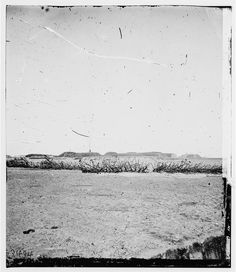 Savannah, Georgia (vicinity). Ground over which Sherman's charged and captured Fort McAllister
