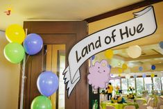 Hue's Adventure Time Themed Party – Entrance Details