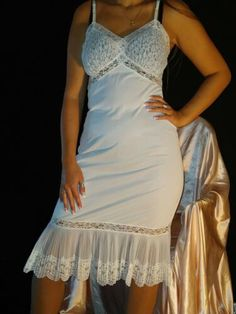 Grecian Goddess, Lace Nightgown, Night Gown, Sexy Lingerie, Lace Trim, Van, Crystal, Formal Dresses, Fashion