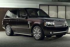 Range Rover...Black on Black...