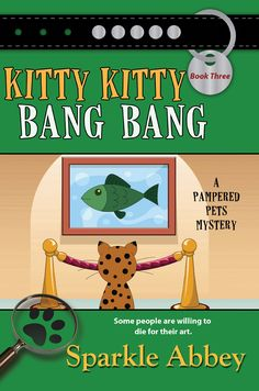 Caro's neighbor Kitty gets shot.  But why would someone kill this publicist?