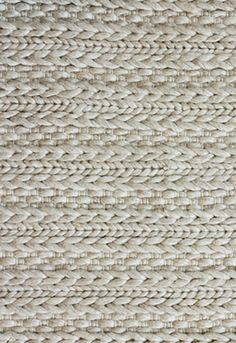another idea for wall to wall carpeting - textural wool