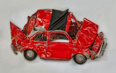 Ron Arad: Crushing Cars for Art By Kaushik Friday, September 20, 2013 Art n Design, Auto, Sculpture     As a child, you may remem...