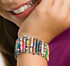 Atelier loisirs créatifs : Bijoux et perles en papier