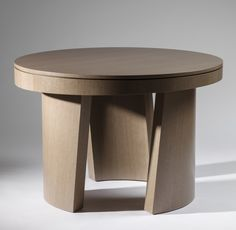"""Dolmen Table - Gray by ZELOUF and BELL at Bespoke Global - 120 cm (47"""") diameter x 80 cm (31.5"""") high"""