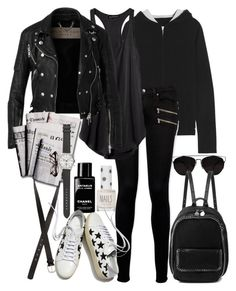 """""""Untitled #7929"""" by nikka-phillips ❤ liked on Polyvore featuring Banjo & Matilda, Paige Denim, Topshop, Chanel, H&M, Burberry, Retrò, 7 For All Mankind, Yves Saint Laurent and STELLA McCARTNEY"""