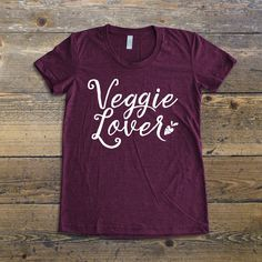 Vegan T-shirt, Vegan shirt, Veggie lover T-Shirt, Gift for vegans, vegan tee, vegan lifestyle, vegan apparel, yoga t-shirt