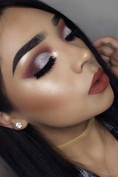 Best Glitter Christmas Makeup