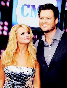Miranda and Blake. They are like the cutest couple EVER.