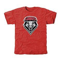 New Mexico Lobos Classic Primary Tri-Blend T-Shirt - Cherry - $24.99