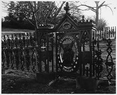 Image Detail for - Title Scots' Charitable Society of Boston, Cemetery Gate, Mount Auburn Cemetery