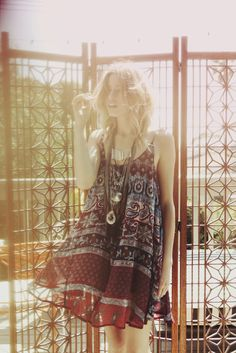 I love the loose, more boho look. And think of it this way, you never have to worry about feeling bloated. The boho trend seems to be more forgiving,