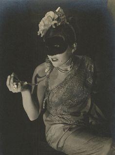 Vintage Weimar Masken, Berlin 30-jahren.