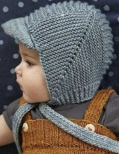 Knitted baby and child hat pattern - Knitting, Crochet Love Baby Hats Knitting, Knitting For Kids, Baby Knitting Patterns, Baby Patterns, Hand Knitting, Knitted Hats, Crochet Baby, Knit Crochet, Misha And Puff