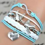 Free Stuff: 5 Acrylic Charm bracelets / Braided / NEW - Listia.com Auctions for Free Stuff