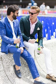 PittiUomo88Day3- Luc Wiesman Editor D'marge mens fashion and 3 Degrees marketing