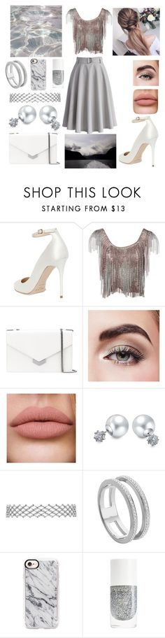 """""""casual elegant style"""" by blerina4 on Polyvore featuring Jimmy Choo, Azzaro, Avon, Bling Jewelry, Monica Vinader and Casetify"""