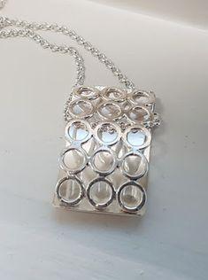 Kaari -riipus, hopeatyöt, hopeakorut, hopeariipus, handmadejewelry, silverjewelry, pendant