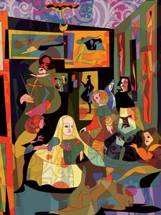 Las meninas - Hugo Horita (the original, by Diego Velasquez, is my favorite painting of all time)