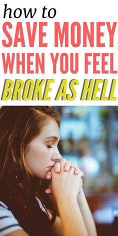 It's hard to save when you feel broke as a joke. Learn how to find money within your own budget and earn more cash to save money.