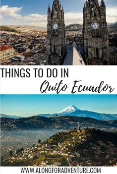 Quito, Ecuador is South America's best-preserved colonial city! Tour the Basilica del Voto Nacional, take a ride on the gondola-style TeleferiQo, visit the plazas of the Old Town, and so much more! This is a four day itinerary of can't miss things to do in Quito, Ecuador.