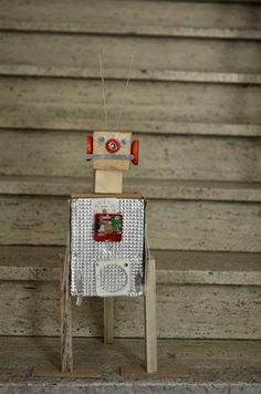 Timmeren en houtbewerken. Workshop 3D robot.