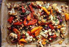 autumn roast vegetable salad with mustard dressing // amy chaplin (gluten free, vegan)