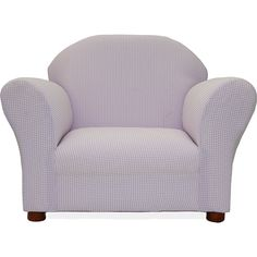 "Fantasy Furniture Gingham Roundy Chair - Lavender - Fantasy Furniture - Toys ""R"" Us"