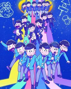 "OMG THE OSOMATSU-SAN FINALE WAS JUST.... I loved how they had this huge problem and buildup last week and everyone was ready to get their hearts torn out today, BUT NOPE! THEY JUST LAZILY SOLVE IT AND IT WAS GREAT. Im sad its over, but in the end it said ""See you sometime!"" INDICATING THERE MAY BE MORE! There were tears and much laughter I apologize for spoilers buy I couldn't resist, I need to vent"
