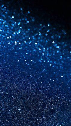 Blue glitter wallpaper | Iphone Wallpapers | Pinterest | Blue ...