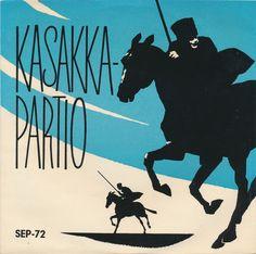 Brita Koivunen, Jaakko Salon Yhtye - Kasakkapartio (1958, Vinyl) | Discogs Salons, 1950s, Moose Art, Album, Lounges, Card Book