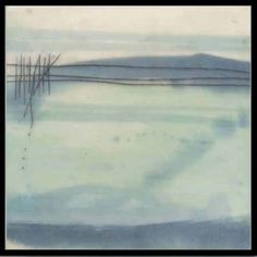 Winter Lake/ by Sally Tuttle