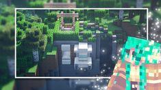 Minecraft Modern, Cliff House, Minecraft Tutorial, Building, Buildings, Construction