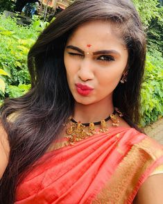 Beautiful Girl Indian, Beautiful Girl Image, Beautiful Saree, Beautiful Indian Actress, Vijay Tv Serial, Girl Photos, Hd Photos, Indian Wedding Fashion, Cute Girl Photo