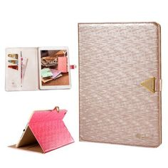 Focuson(TM) Bling High Quality Crystal Fashion Design Leather Wallet Type Magnet Design Flip Case Cover for Ipad Air (Champagne), http://www.amazon.com/dp/B00KD8G4CC/ref=cm_sw_r_pi_awdm_VTYWtb14YN5HX