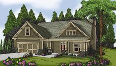 House Plan 009-00133 - Craftsman Plan: 2,133 Square Feet, 4 Bedrooms, 2.5…