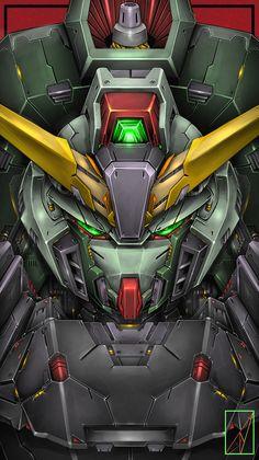 Arte Gundam, Gundam Art, Gundam Wallpapers, Phone Wallpapers, Gundam Seed, Mobile Suit, Master Chief, Destiny, Painting & Drawing