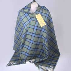 Add a touch of Scottish class to any outfit with this beautiful Stole - made...