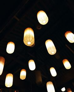 Lampions // moody photo von knobz