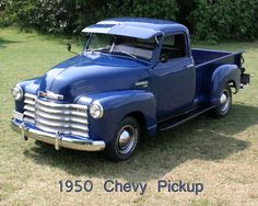 pictures of 1950 chevrolet trucks | ... eb white i got interested in 1950s chevy pickups when charlotte wrote