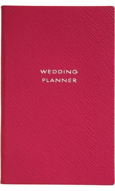 Smythson Wedding Planner Panama Notebook...want