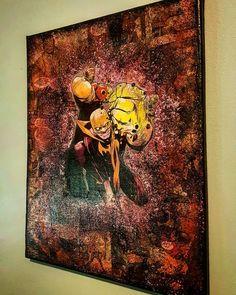 LUKE CAGE X IRON FIRST Let me know what you guys think  #lukecage #ironfist #powerman #dannyrand #defenders #heroesforhire #marvel #netflix #kungfu #comicbooks #comics #instagallery #fresh #harlem #jessicajones #montreal #starkematter #green #upcycle #handmade