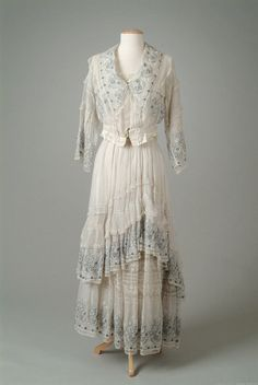 Lucille dress ca. 1915 via The Meadow Brook Hall Historic Costume Collection